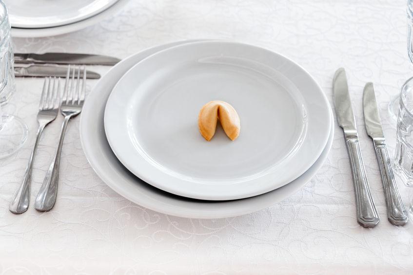 Кулинарный рецепт китайские печенья с предсказаниями