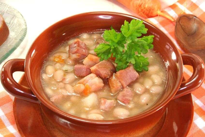 Суп «нежная фасолинка»
