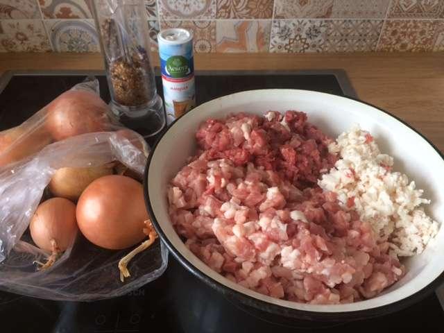 Манты с рубленным мясом