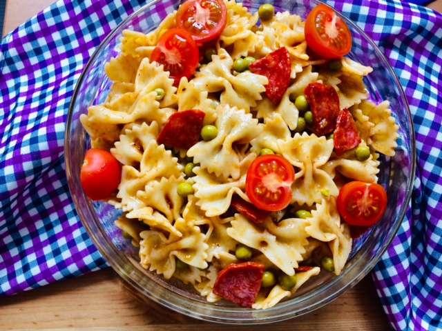 Макаронный салат по-итальянски