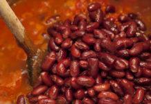 Мексиканское рагу из фасоли
