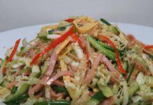 Японский салат КИОТО