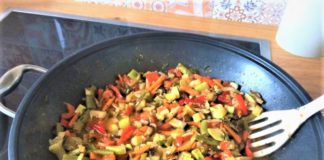 Овощное рагу «Рататоли»