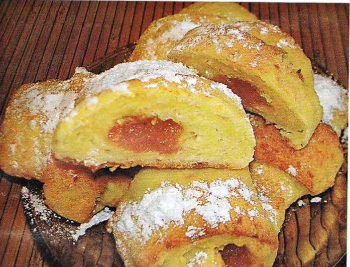 Творожные булочки с курагой