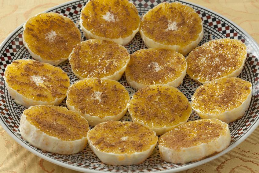 Апельсины в корице и сахаре