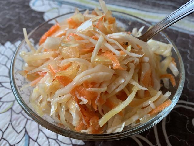 Вкуснейшая салатная капуста