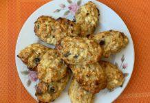 Сырники с геркулесом и изюмом