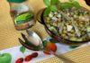 Зеленый салат с французским акцентом
