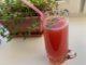 Освежающий напиток из замороженных ягод и мяты