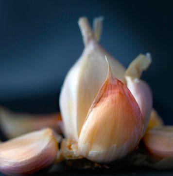 Паста из чеснока с солью за 5 минут