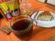 Напиток из цикория с корицей и лимоном