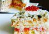 Превосходный салат с сёмгой