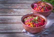 Русский овощной салат
